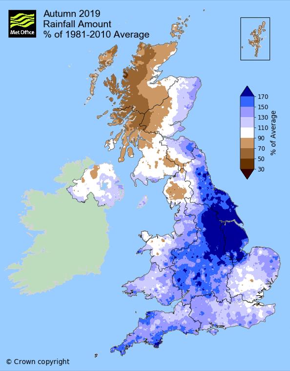 autumn 19 rainfall map